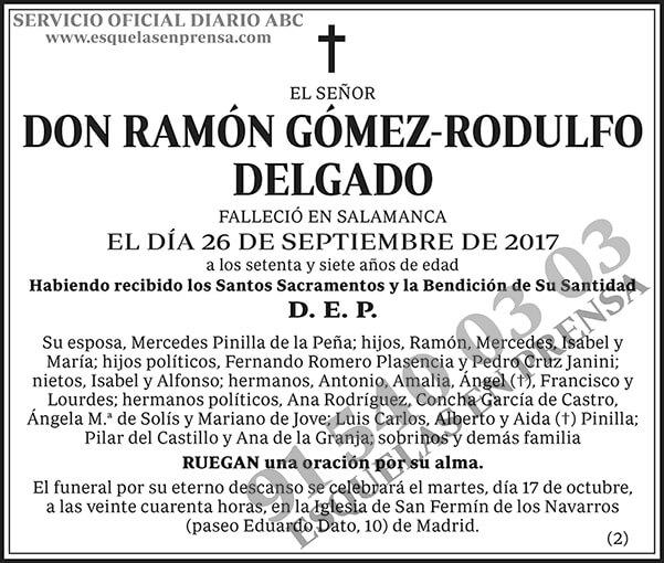 Ramón Gómez-Rodulfo Delgado